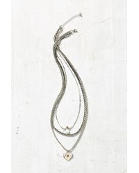 Urban Outfitters | Metallic Shannons Layering Necklace | Lyst