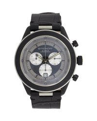 Givenchy | Black Eleven Chronograph Watch Size Os | Lyst