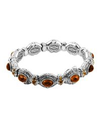 Konstantino   Metallic 'hebe' Link Toggle Bracelet   Lyst