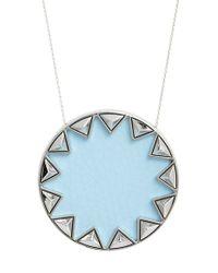House of Harlow 1960 - Blue 1960 'sunburst' Pendant Necklace - Lyst