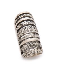Pamela Love - Metallic Double Cage Ring - Silver - Lyst