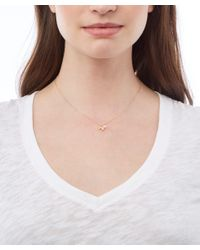 Alex Monroe | Metallic Gold-plated Baby Bee Necklace | Lyst