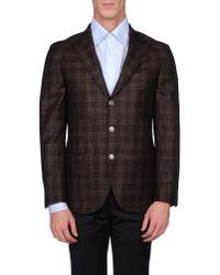 Brunello Cucinelli - Brown Blazer for Men - Lyst