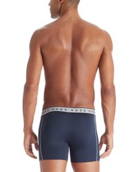 BOSS - Red 'cyclist 2p Micro Us' | Stretch Trunks for Men - Lyst