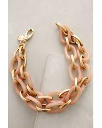 Pono | Pink Cafe Au Lait Link Necklace | Lyst