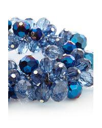 Coast | Blue Floral Bracelet | Lyst