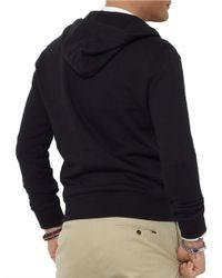Polo Ralph Lauren | Black Full-Zip Fleece Hoodie for Men | Lyst