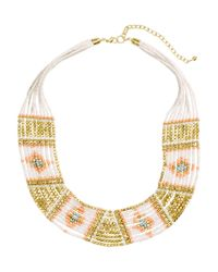 H&M | White Short Necklace | Lyst