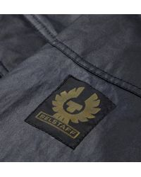 Belstaff - Blue Burgess Waxedcotton Jacket for Men - Lyst