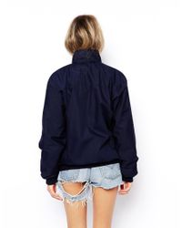 ASOS | Blue Reclaimed Vintage Harrington Jacket | Lyst