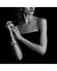 David Yurman - Metallic Cable Classics Bracelet With Diamonds And Gold, 10mm - Lyst