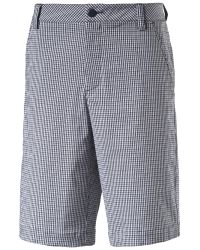 PUMA | Blue Plaid Tech Shorts for Men | Lyst