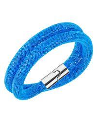 Swarovski | Blue Stardust Bracelet | Lyst