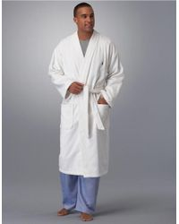 Polo Ralph Lauren | White Velour Robe for Men | Lyst