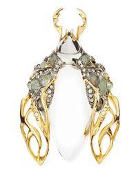 Alexis Bittar | Metallic Jardin Mystere Beetle Pin Brooch | Lyst
