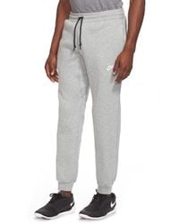 Nike | Gray 'aw77' Cuffed Sweatpants for Men | Lyst