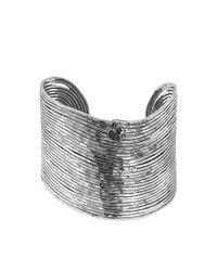 Gas Bijoux | Metallic Wave Tetiaroa Cuff | Lyst