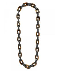 BaubleBar - Brown Rectangle Links - Lyst