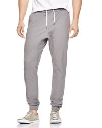 Zanerobe | Gray Sureshot Tech Jogger Pants - 100% Bloomingdale's Exclusive for Men | Lyst