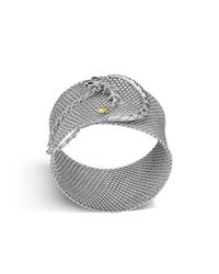 John Hardy | Metallic Legends Naga Mesh Bracelet | Lyst