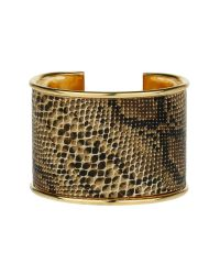 Mikey | Brown Snake Look Cuff | Lyst