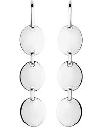 Links of London | Metallic Grace Sterling Silver Earrings | Lyst
