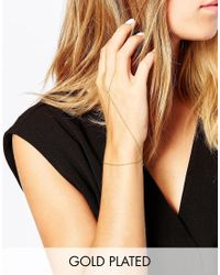Gorjana | Metallic Paige Handchain | Lyst