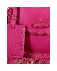 Polo Ralph Lauren | Pink Small Fringed Cross-body Bag | Lyst