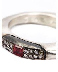Rosa Maria | Metallic Sapho Ring | Lyst