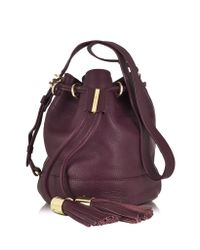 See By Chloé - Purple Viki Small Bucket Bag - Lyst
