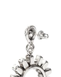 Philippe Audibert - Metallic 'paola' Sunflower Crystal Earrings - Lyst