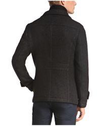 BOSS Orange | Black Wool-blend Jacket 'c-orfeys' for Men | Lyst