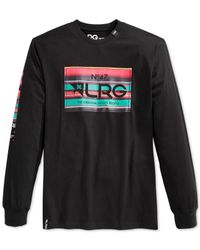 LRG | Black Big And Tall Serapa Banner T-shirt for Men | Lyst