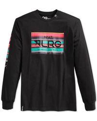 LRG | Black Big And Tall Serapa Banner T-shirt for Men | Lyst