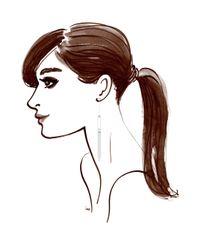 Henri Bendel - Metallic Luxe Asscher Web Linear Earrings - Lyst
