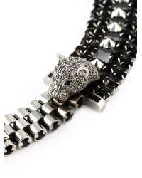 Iosselliani | Metallic 'Metal Instinct' Cheetah Necklace | Lyst