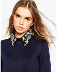 ASOS - Black Limited Edition Barbell Choker Necklace - Lyst