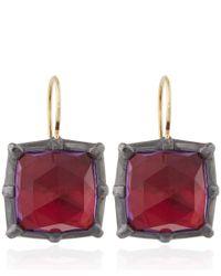 Larkspur & Hawk - Pink Amethyst Bella Earrings - Lyst