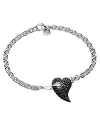 Shaun Leane - Metallic 'Hook My Heart' Bracelet - Lyst
