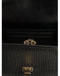 Tory Burch - Black Mini Harper Cross Body Bag - Lyst