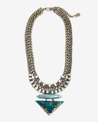DANNIJO | Blue Leona Necklace | Lyst