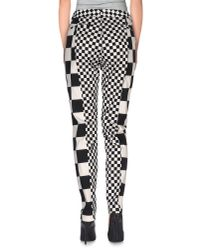 Love Moschino - Black Casual Trouser - Lyst