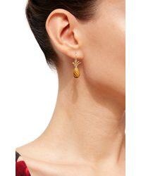 Annette Ferdinandsen - Brown Pinapple Earrings - Lyst