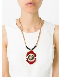 Marni   Natural Flower Pendant Necklace   Lyst