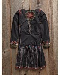 Free People - Multicolor Vintage Beaded Dress - Lyst