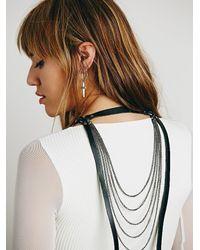 Free People - Black Cascade Wrap Harness - Lyst