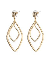 Alexis Bittar - Metallic Hyperion Gold Pave Post Earring You Might Also Like - Lyst