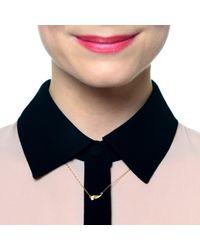 Lulu Frost | Metallic Code 18Kt Wing Necklace | Lyst