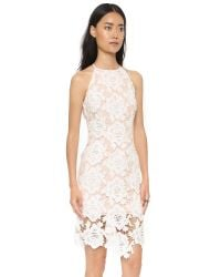 Keepsake - White True Love Dress - Black - Lyst