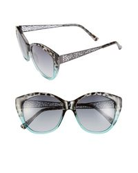 BCBGMAXAZRIA | Gray 56mm Sunglasses | Lyst